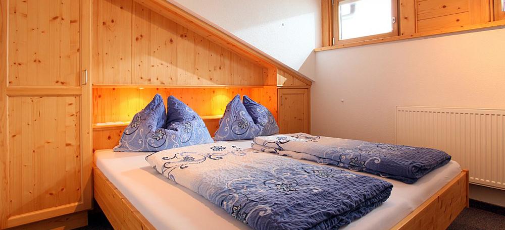 Untertanzer-Appartemen-Schlafzimmer